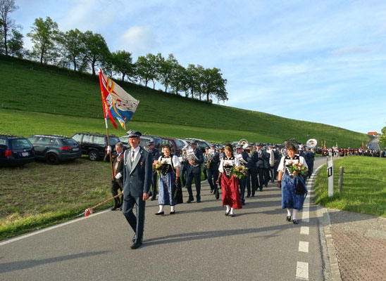 Marschmusikparade in Fahrni, 20.05.2016