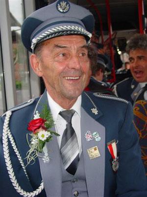 Fritz Bieri, CISM Veteran (für 60 Jahre Musizieren!!!)