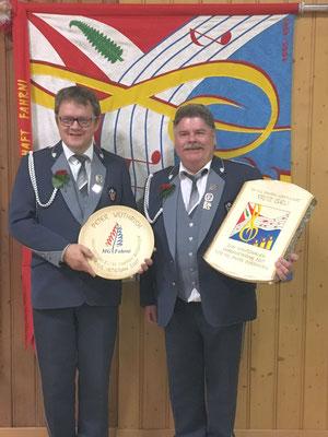 Veteranen 2017: Peter Wüthrich, Fritz Iseli