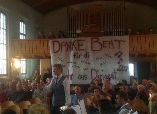 Der letzte Auftritt mit Beat Schneider als Dirigent.