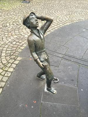 """Der Schmied auf dem """"Alten Postplatz"""""""