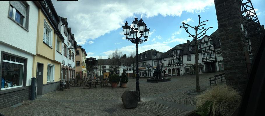 Alter Postplatz, Ulmen