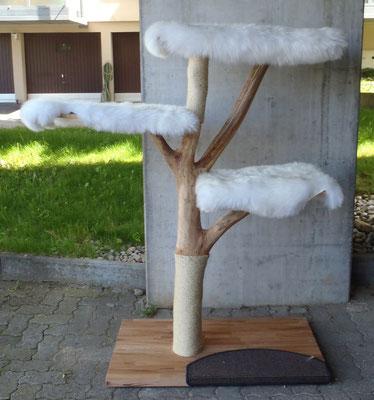 Kratzbaum Felina nach Umbau gemäss Kundenwunsch
