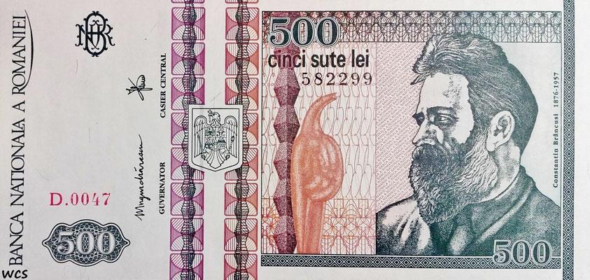 Romania 500 Lei 12.1992 P.101b