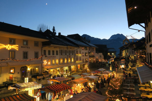 Gruyeres Christmas Market - Best Christmas Markets in Europe - @La Gruyère Tourisme - European Best Destinations