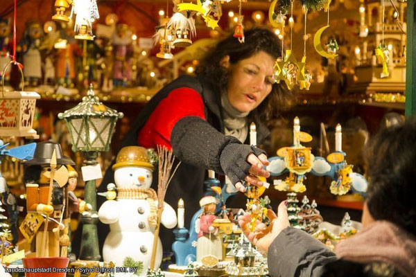Christmas market in Dresden, Germany - Copyright Sylvio Dittrich