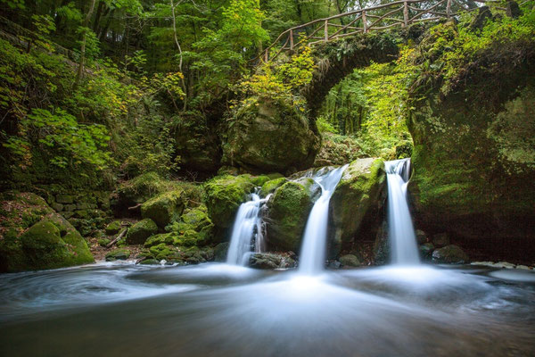 Mullerthal - European Best Destinations - Schiessentumpel waterfall in Mullerthal © ORT MPSL - Thomas Bichler