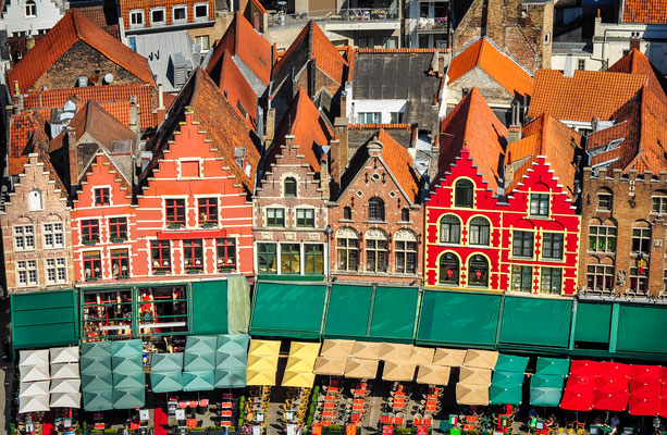 Bruges - European Best Destinations - Colorful house in Bruges copyright Martin M303