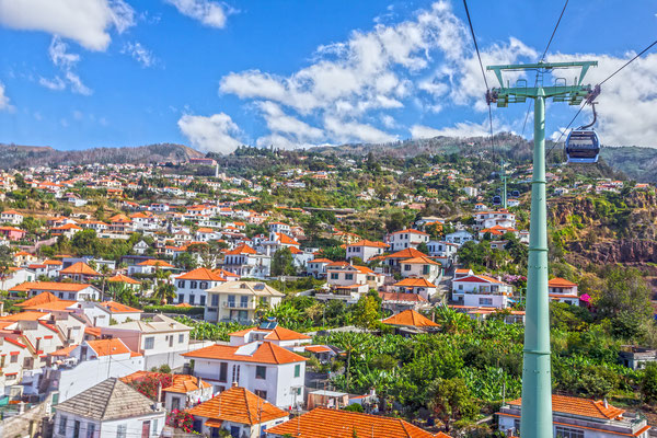 Funchal cable car, Madeira Islands, Portugal - Copyright Valentina Photo