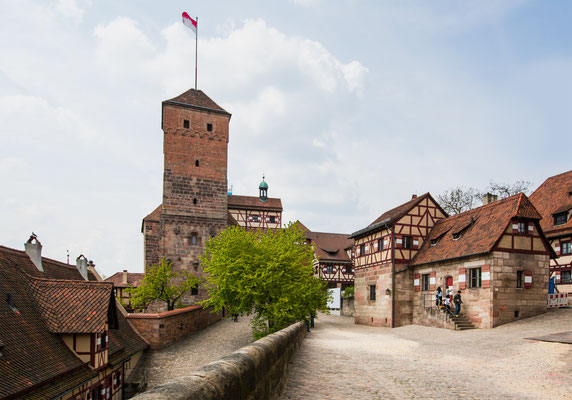 Nuremberg Castle in Nuremberg, Germany. Copyright muratart