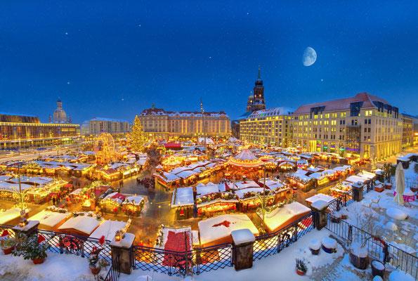 Dresden Christmas Market © Torsten Hufsky / Dresden.de