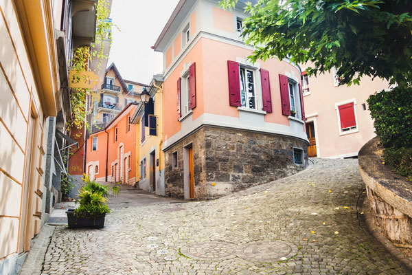 Montreux streets Copyright fischers