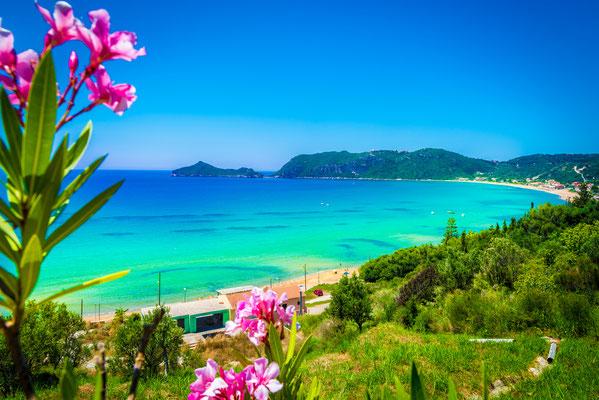 Corfu - European Best Destinations - Pagon beach in Corfu - Copyright Balate Dorin