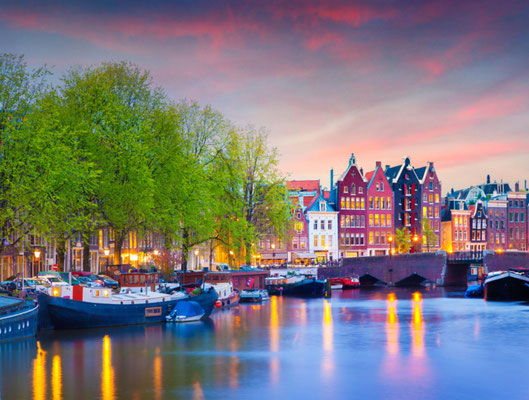 Amsterdam European Best Destinations - Copyright Andrew Mayovskyy