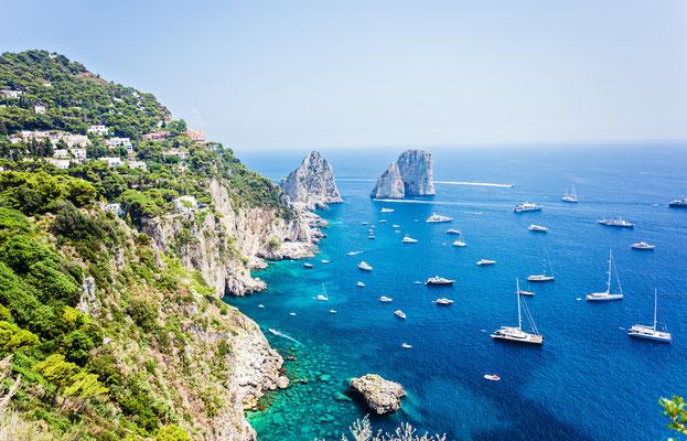 Capri - European Best Destinations - Faraglioni rocks in Capri Copyright Natalia Macheda