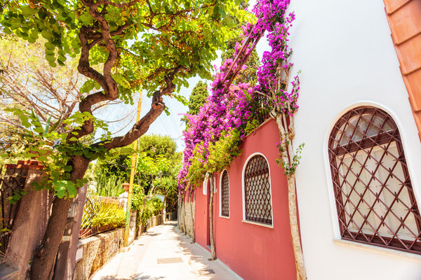 Capri - European Best Destinations - Streets of Capri - Copyright Natalia Macheda