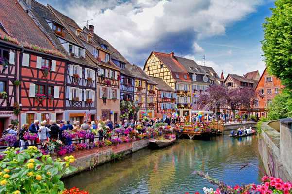Colmar - Le Quai de la Poissonnerie - Copyright Colmar Tourisme