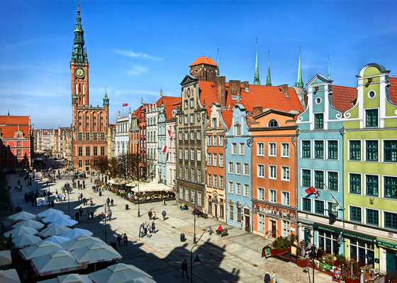 Gdansk-Old City-Long Market street - Jerzy