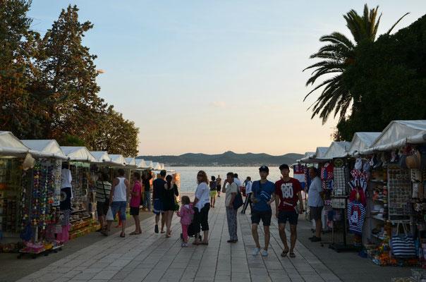 Night market in Zadar - Copyright Matthieu Cadiou / European Best Destinations
