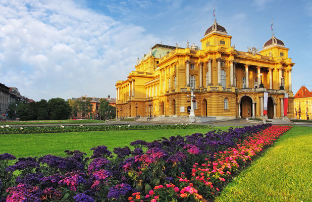 The National Theater of Zagreb - Copyright TTstudio