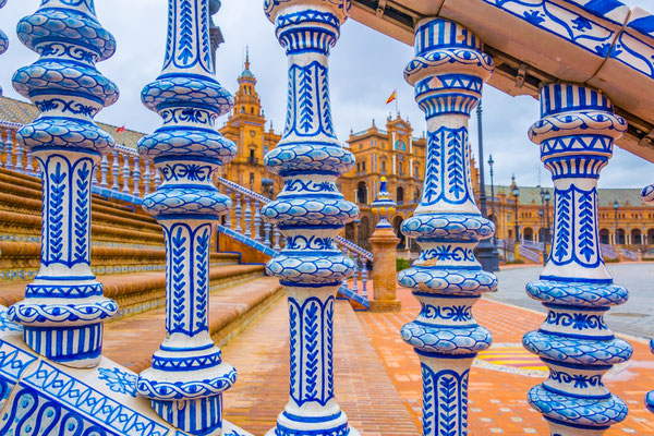Seville - European Best Destinations - Azulejos in Sevilla - Copyright trabantos
