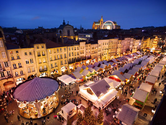 Christmas in Metz, France - Copyright ©Philippe Gisselbrecht -Benoit Lapray -Inspire Metz  / Office de Tourisme de Metz