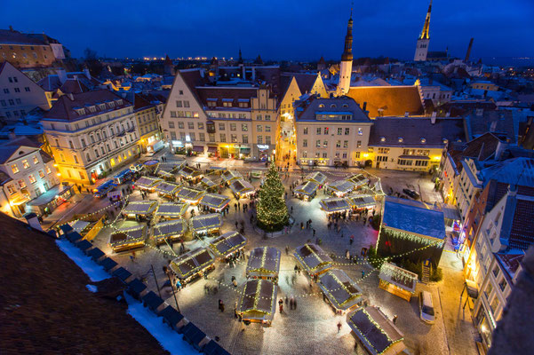 Tallinn Christmas Market - Copyright Visit Tallinn