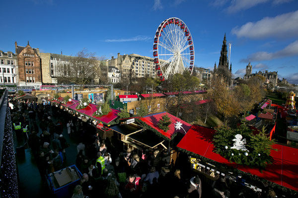 Edinburgh Christmas market - Copyright Eoin Carey