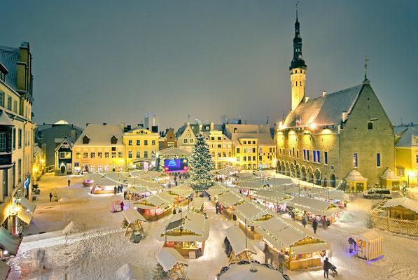 Tallinn Christmas Market - Copyright Allan Alajaan / Visit Tallinn