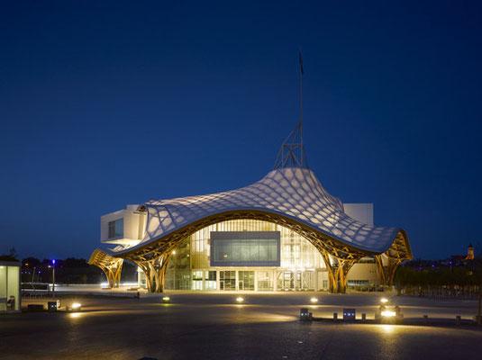 Centre Pompidou-Metz © Shigeru Ban Architects Europe et Jean de Gastines Architectes, avec Philip Gumuchdjian pour la conception du projet lauréat du concours _ Metz Métropole _ Centre Pompidou-Metz