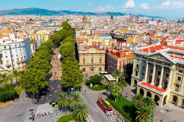 La Rambla, Barcelona- Copyright KavalenkavaVolha - Fotolia