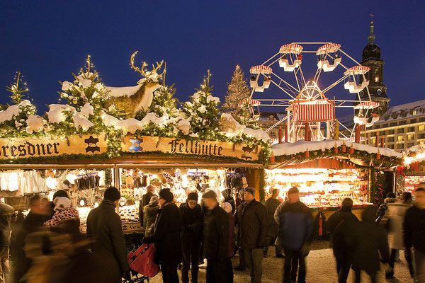 Dresden Christmas market - Copyright  Dresden.de