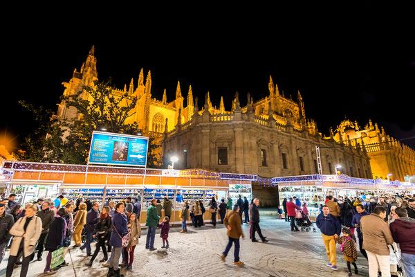Seville Christmas Market - Copyright Sevilla Turismo - Las Brujas Eventos  - Alfredo Garcia Saz