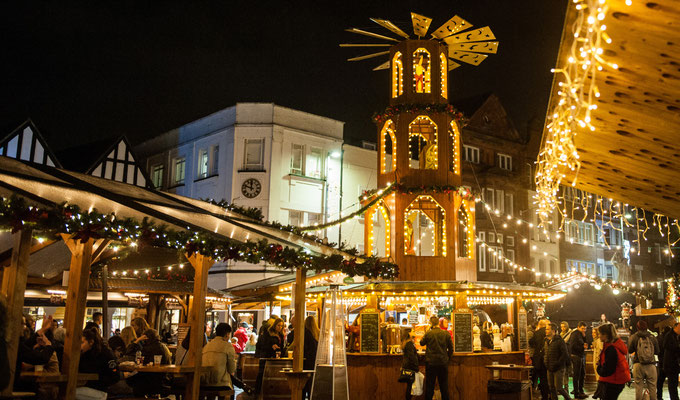 Kingston upon Thames Christmas Market - Copyright inkingston.co.uk
