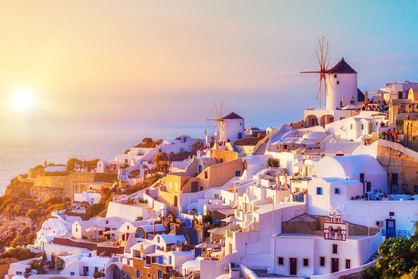 OIa Village in Santorini - Copyright Mila Atkovska - Santorini European Best Destinations