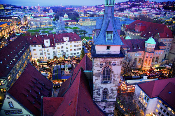 Best Christmas Markets in Germany - Stuttgart Christmas Market - Copyright Suttgart-Tourist.de