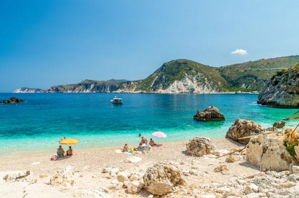 Eleni beach in Kefalonia, Greece - Copyright Lucian BOLCA