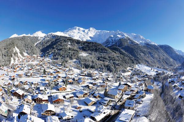 Les Contamines-Montjoie Ski Resort, French Alps ©David Vuillermoz
