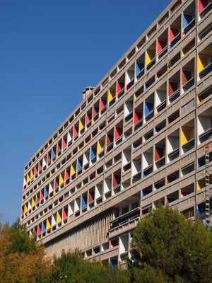 Le Corbusier architecture in Marseille, France © idOTCM