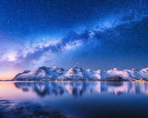 Lofoten Fjord copyright Denis Belitsky