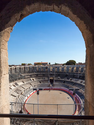 Arena and Roman Amphitheatre of Arles, Provence, France - Copyright Gerhard Roethlinger