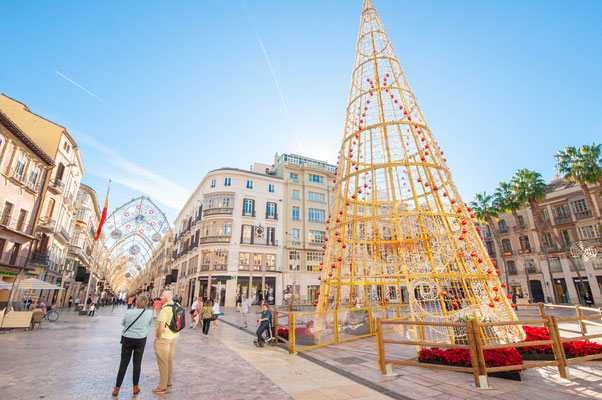 Malaga Christmas lights - Copyright Matthieu Cadiou / European Best Destinations