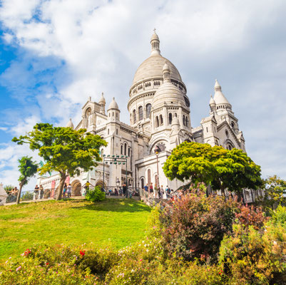 Paris Sacré Coeur copyright Shutterstock Editorial JeanLucIchard