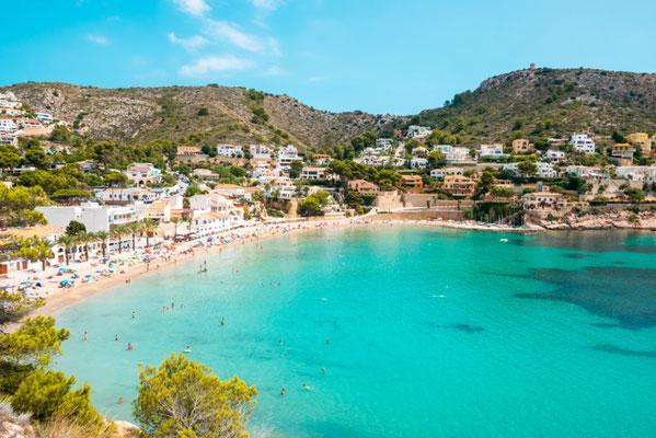 Calpe European Best Destinations - Best Destinations to visit in Spain - Moreira beach copyright Nicole Kwiatkowski