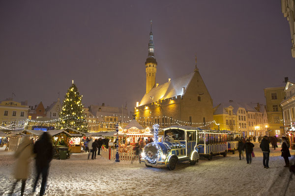 Tallinn Christmas Market - Copyright Sergei Zjuganov