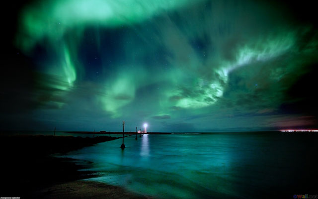 Grótta Northern Lights - Copyright Ragnar Th. Sigurdsson / Visit Reykjavik