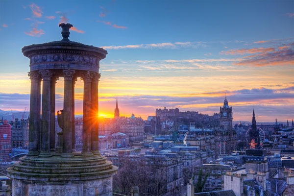 Edinburgh European Best Destinations Copyright Keattikorn