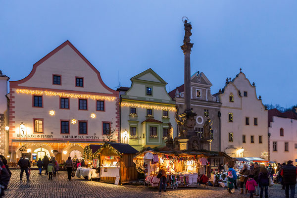 Best Christmas Markets in Europe - Cesky Krumlov Christmas Market - Copyrigth   © Town Český Krumlov  Foto Jan Schinko jr - European Best Destinations