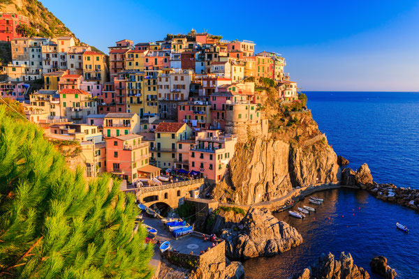 Cinque Terre - European Best Destinations - Manarola Village in Cinque Terre - Copyright Sorin Colac