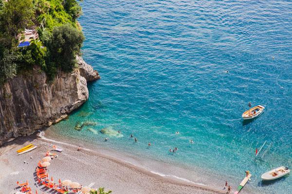 Positano - European Best Destinations - Beach close to Positano Copyright  Justine Kibler